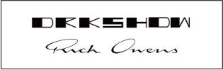 Rick Owens / DRKSHDW (リックオウエンス/ダークシャドウ)は20%UPで買取り中