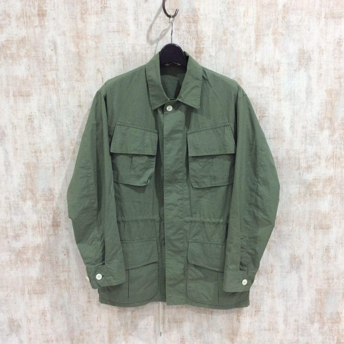 AURALEE オーラリー FINX RIPSTOP FATIGUE JACKET