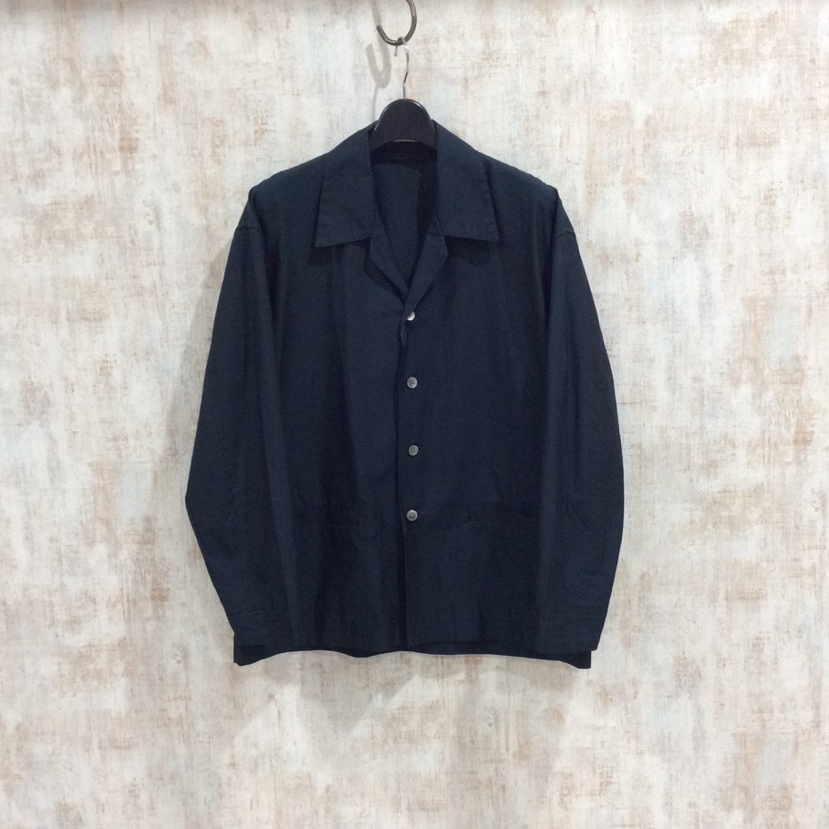 AURALEE オーラリー FINX SILK CHAMBRAY SHIRTS JACKET