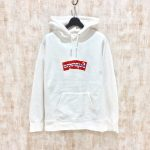 "<span class=""title"">COMME des GARCONS SHIRT × Supreme / Box Logo Hooded Sweatshirt / 買取65000円</span>"